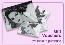 Beauty gift vouchers are available