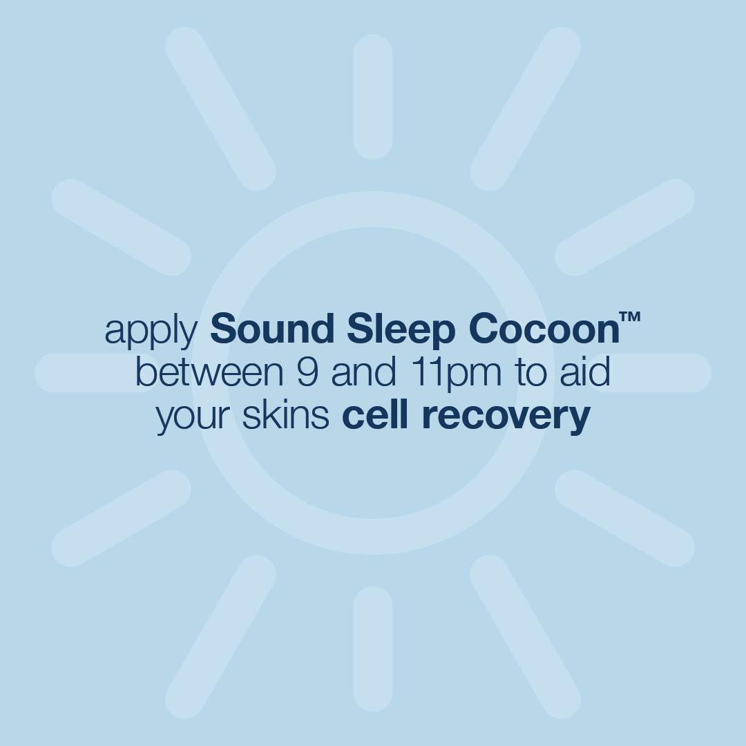 Launching Sound Sleep Cocoon Night Cream